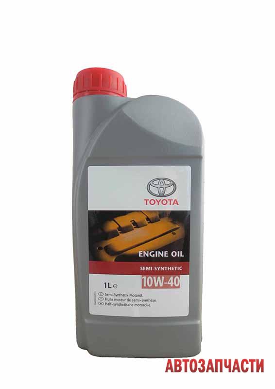 Моторное масло TOYOTA ENGINE OIL 10W-40 1л